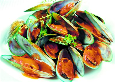 GREENLIP MUSSELS Photos, Info, Catch, Cook, Buy