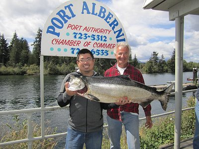 1st sept 2010 fishing report port alberni inlet barkley for West point fishing report