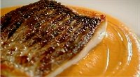 Sea Bass with Pepper Sauce