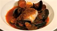 Baked Cod, Clams & Mussels