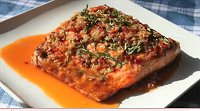 Garlic Ginger Salmon