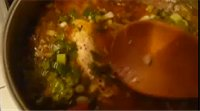 Mussel and Red Snapper Soup